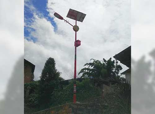 特色太阳能路灯