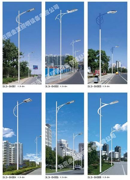 市电道路路灯使用