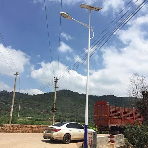 昆明太阳能路灯安装