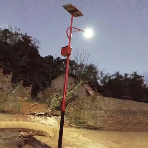 村落民族特色太阳能路灯