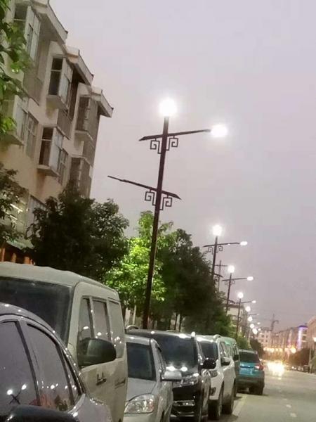 市电道路路灯
